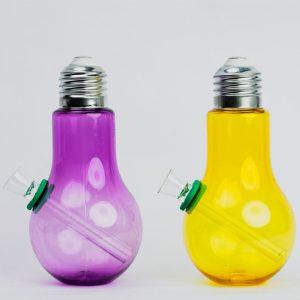 באנג זכוכית צורת מנורה עם גומי אטימה ומבחנת זכוכית