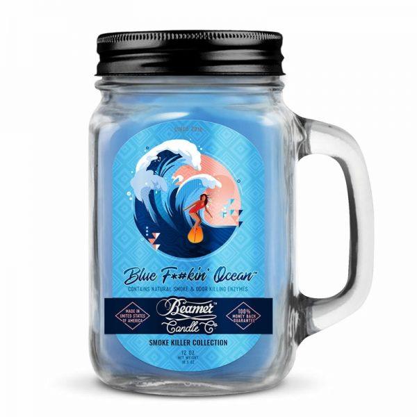 נר ריחני בניחוח BEAMER BLUE F-#KIN' OCEAN