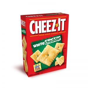 מארז קרקרים פריכים בטעם גבינת צ'דר לבנה Cheez It