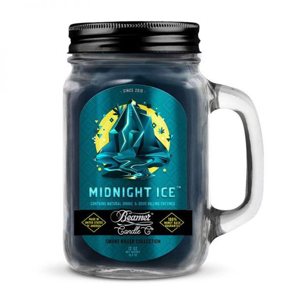 נר ריחני בניחוח BEAMER MIDNIGHT ICE