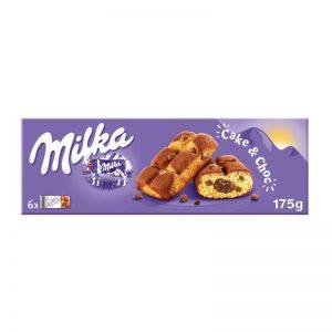 מארז חטיף עוגות ספוג ממולאת בקרם שוקולד Milka
