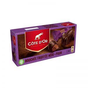 פרלינים שוקולד מריר במילוי קרם שוקולד Cote D'or