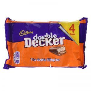 מארז 4 יחידות דאבל דקר Cadbury Double Decker