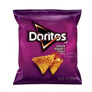 דוריטוס בטעם צ'ילי מתוק חריף Doritos