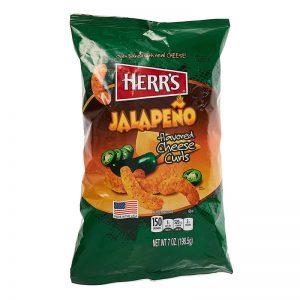 חטיף תירס אפוי בטעם חלפיניו Herr's Jalapeño