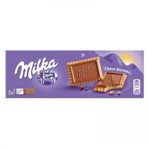 עוגיות פטיבר של מילקה עם שכבת שוקולד חלב עשיר Milka