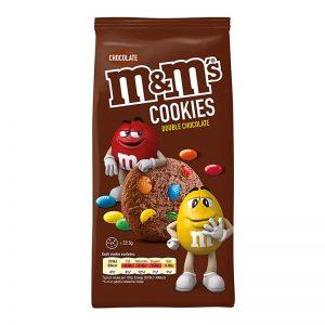 עוגיות דאבל שוקולד ממכרות m&m