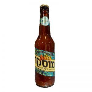 """בירה מוסקו ג'וסי Juicy נפח 330 מ""""ל"""