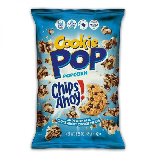 פופקורן עם עוגיות שוקוצ'יפס Chips Ahoy אריזה גדולה