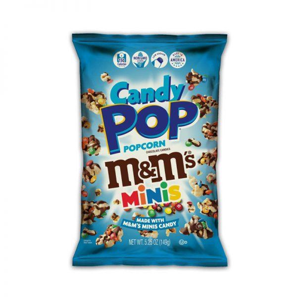 פופקורן מתוק מלוח עם סוכריות מיני m&m אריזה גדולה
