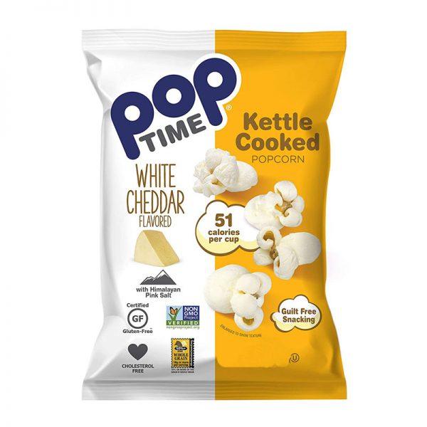 פופקורן בטעם גבינת צ'דר PopTime