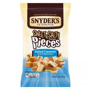 שברי בייגלה מלחם מחמצת בשילוב טעמים קרמל ומלח Snyder's
