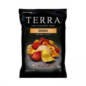חטיף על בסיס ירקות שורש בטעם טבעי Terra