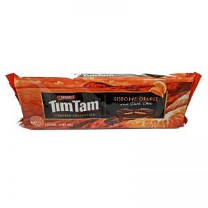 עוגיות בטעם תפוז מצופה שוקולד מריר TimTam