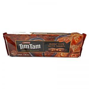 עוגיות שוקולד בטעם קרמל מלוח TimTam