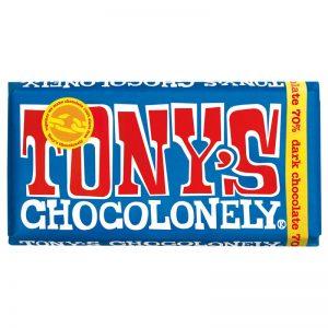 שוקולד טוניס מריר 70% Tony's
