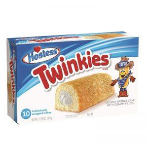 עוגות טווינקיס עם מילוי קרן וניל Hostess