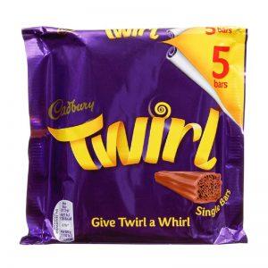 מארז 5 יחידות Twirl מקופלת Cadbury