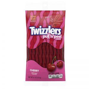 טוויזלרס טוויסט דובדבן Twizzlers Pull n Peel