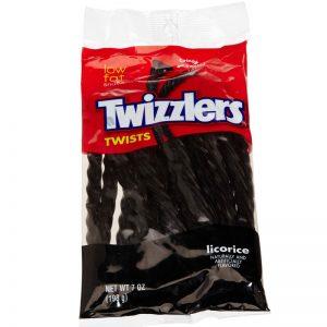טוויזלרס טוויסט ליקריץ Twizzlers Twists