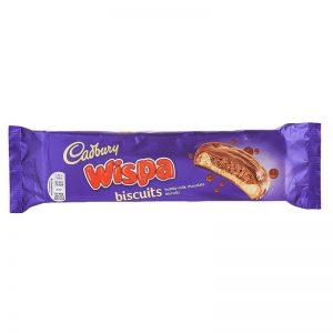 עוגיות וויספה במילוי שוקולד איכותי Cadbury Wispa