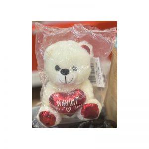 דובי קטן עם כיתוב WITH LOVE