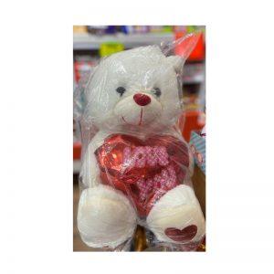 דובי גדול עם כיתוב LOVE YOU