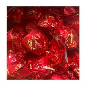 פרלינים שוקולד עטיפה אדומה במשקל
