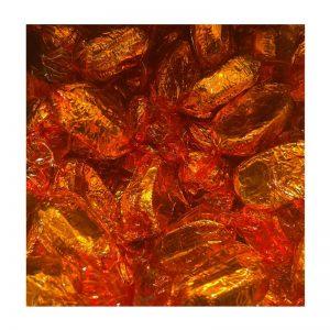 פרלינים מיני שוקולד עטיפה כתומה במשקל