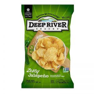 חטיף צ'יפס בטעם חלפיניו Deep River