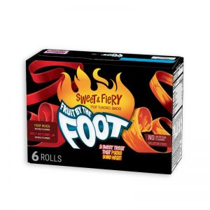 רולים בטעם אפרסק ואבטיח חריף Fruit By The Foot