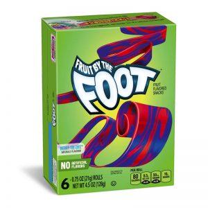 רולים בטעמי פירות יער Fruit By The Foot