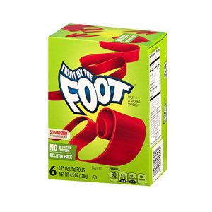 רולים בטעם תות Fruit By The Foot