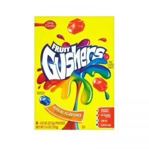 פרוט גאשרס בטעם פירות טרופיים Fruit Gushers
