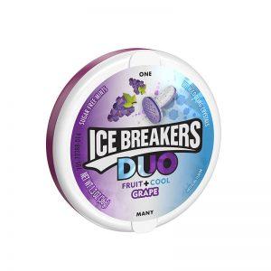 סוכריות ענבים ומנטה Ice Breakers