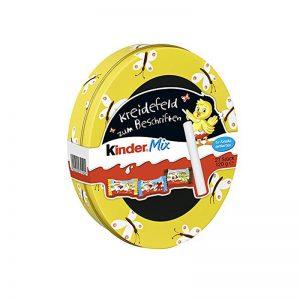 קינדר מיקס קופסאת פח צהובה Kinder Mix