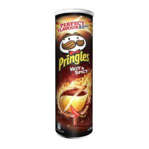 פרינגלס חריף אש Pringles Hot Spicy