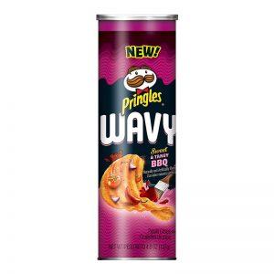 פרינגלס ברביקיו בצורת גלים Pringles Wavy