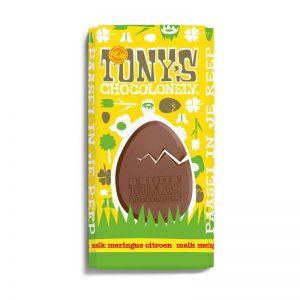 שוקולד חלב טוניס בטעם מרנג ולימון Tony's