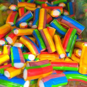 ליקריץ בלוק צבעוני מצופה סוכר במשקל