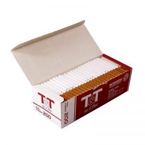 סיגריות ריקות למילוי - 200 יחידות