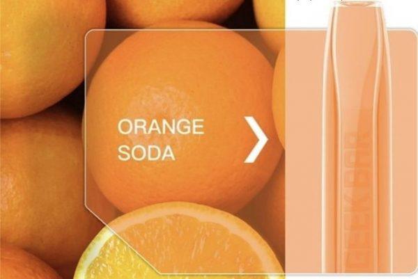 סיגריה אלקטרונית חד פעמית 1500 שאיפות-בטעם תפוז