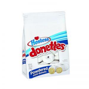 עוגות מיני דונטס עם אבקת סוכר Hostess