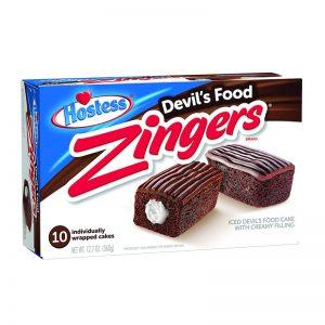 עוגות שוקולד במילוי חלב משובח Hostess Zingers
