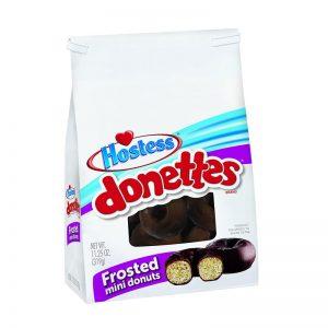 עוגות מיני דונטס בציפוי שוקולד Hostess