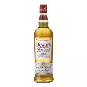 """דיוארס ווייט לייבל 750 מ""""ל Dewar's"""