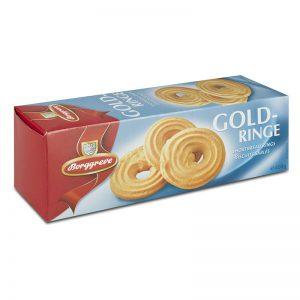 עוגיות שורטברד בטעם חמאה Gold-ringe