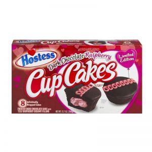 עוגות שוקולד במילוי קרם פטל Hostess