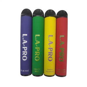 סיגריה אלקטרונית חד פעמית 1600 שאיפות בטעמים -L.A Pro Disposable