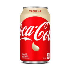 """פחית קוקה קולה וניל 330 מ""""ל"""